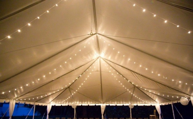 Lighting Skyline Tent Event Rental